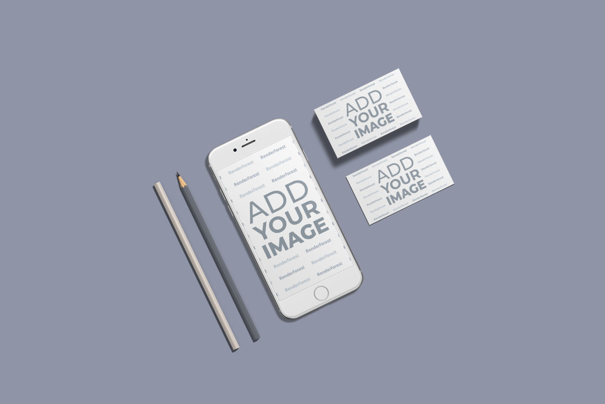 iPhone and Business Stationery