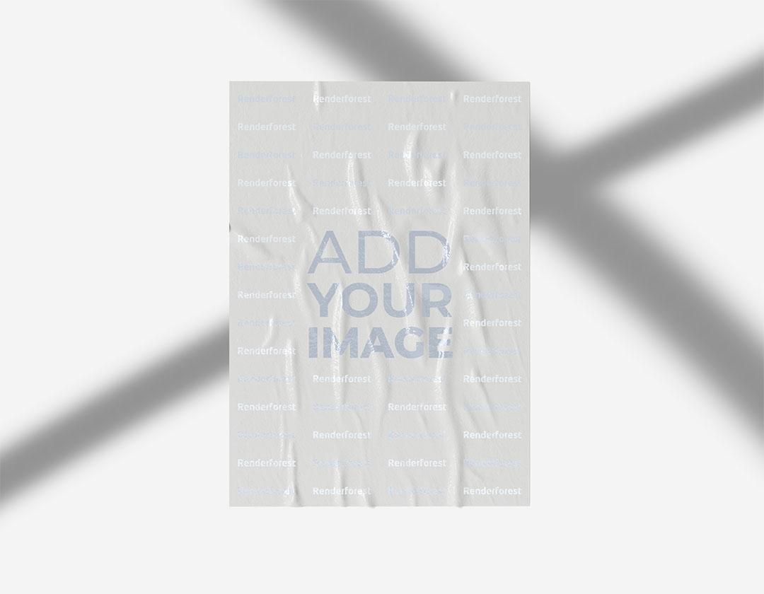 نشرة مجعدة على خلفية نيون وردية اللون