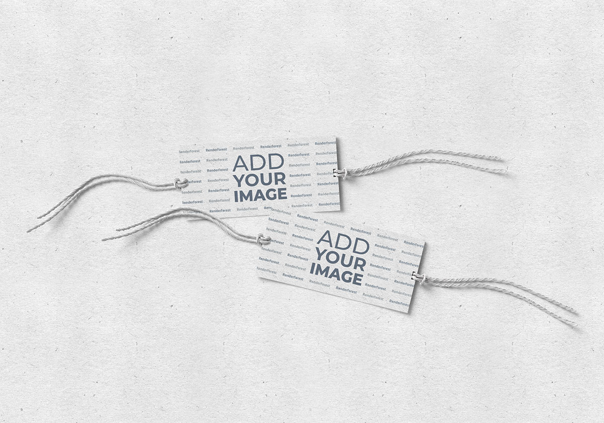 Two Similar Swing Tags