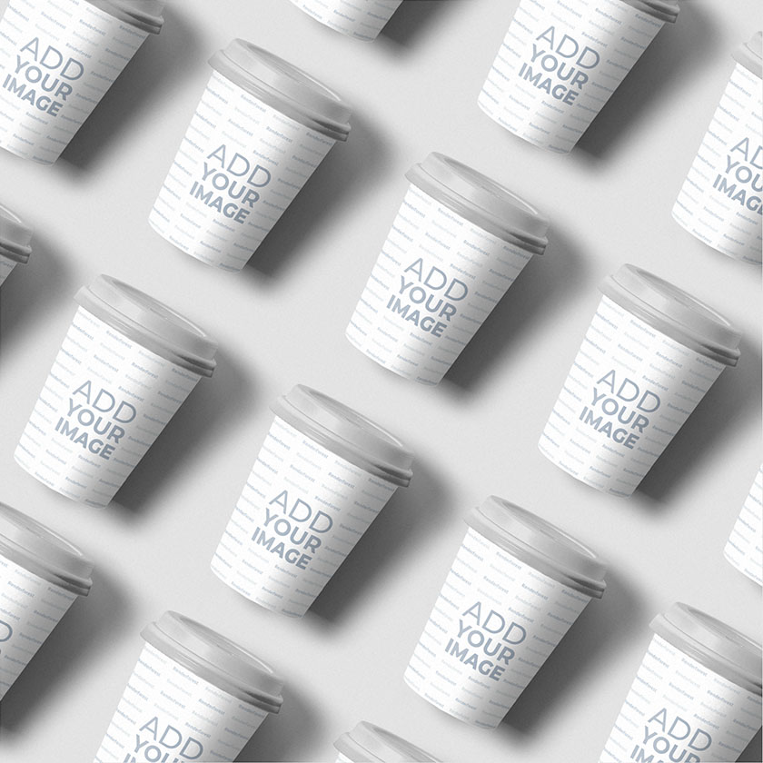 Multiple Isometric Disposable Cups