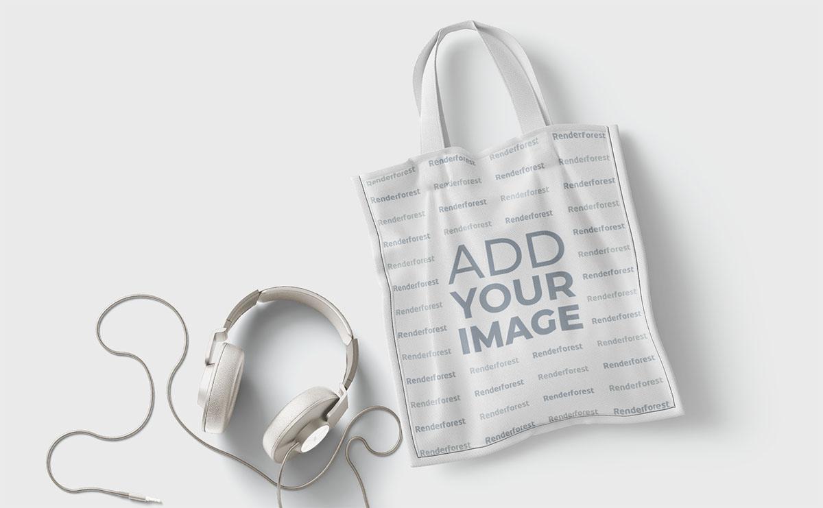 Alışveriş Çantası ve Kulaklık