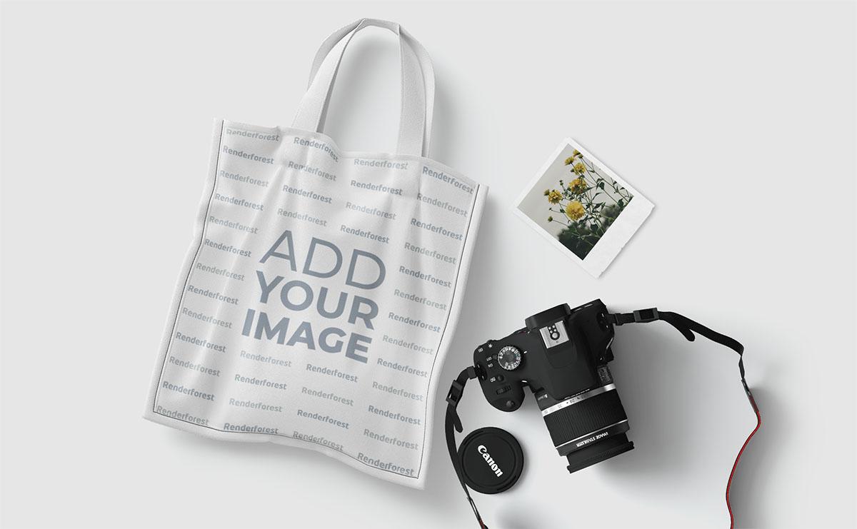 Alışveriş Çantası ve Fotoğrafçılık Malzemeleri