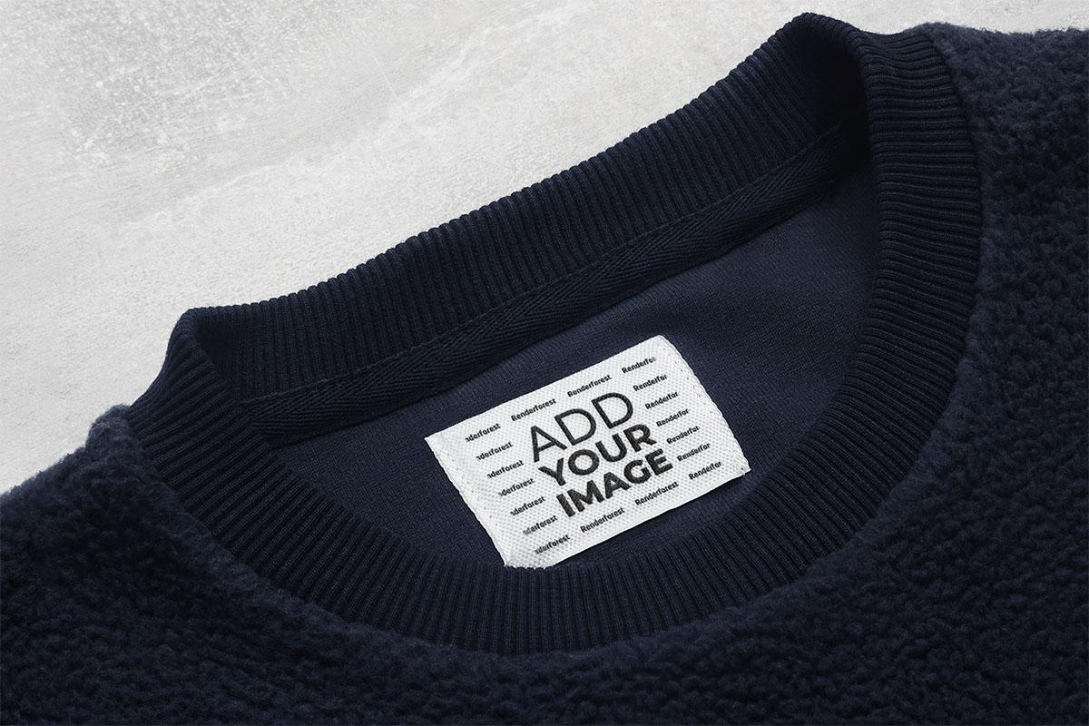ウールセーターのタグ