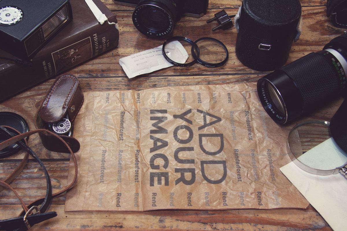Vintage-Fotografie-Ausrüstung