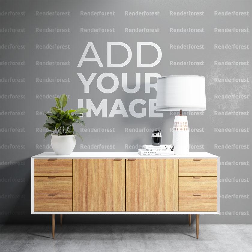 壁紙デザインと植物