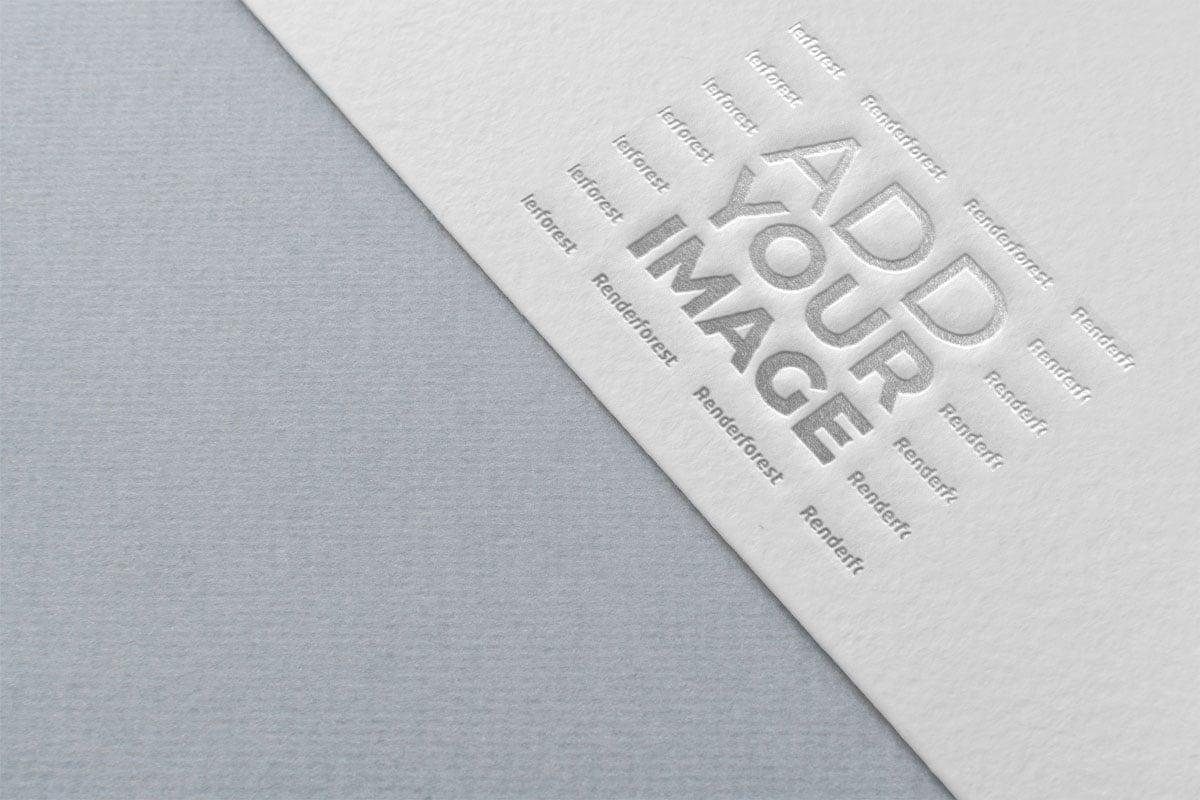 Нижняя часть белого листа бумаги