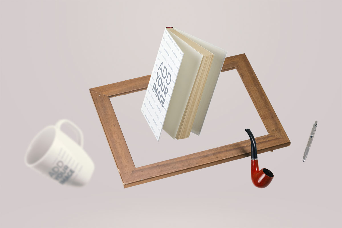 No Gravity Book and Objects