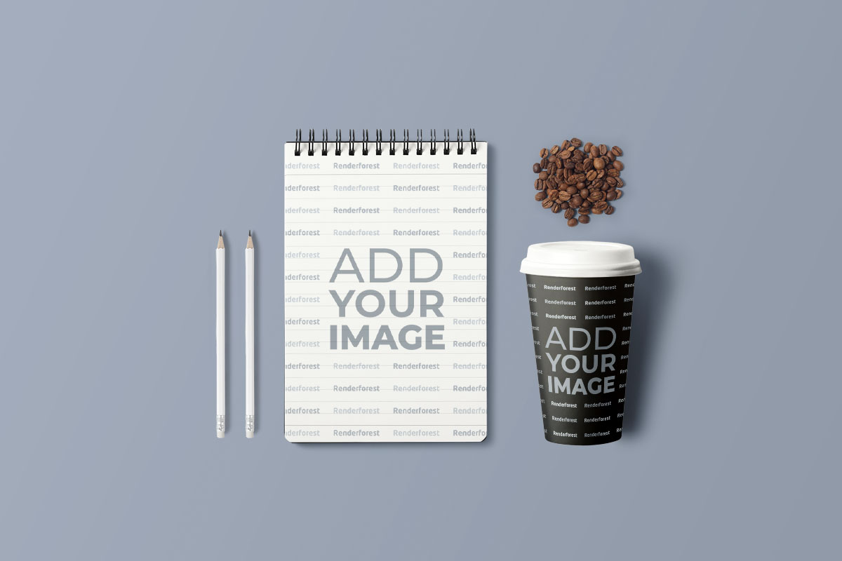 Creative Cafe Branding Set