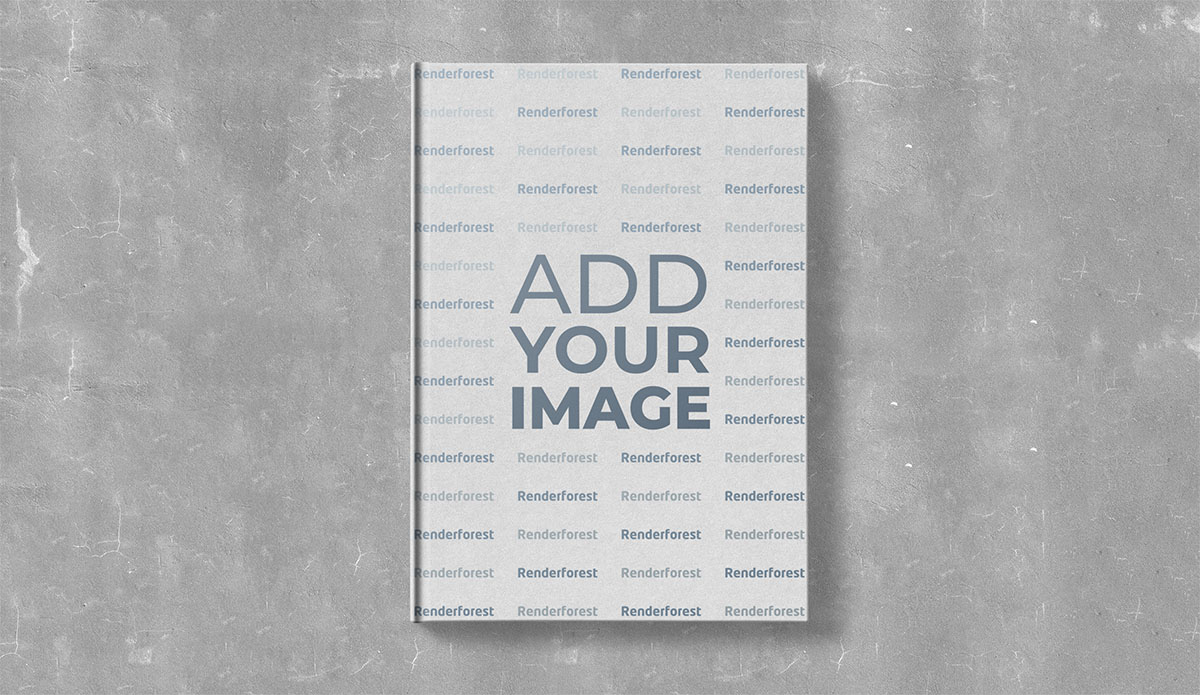 Vertical Hardcover Book