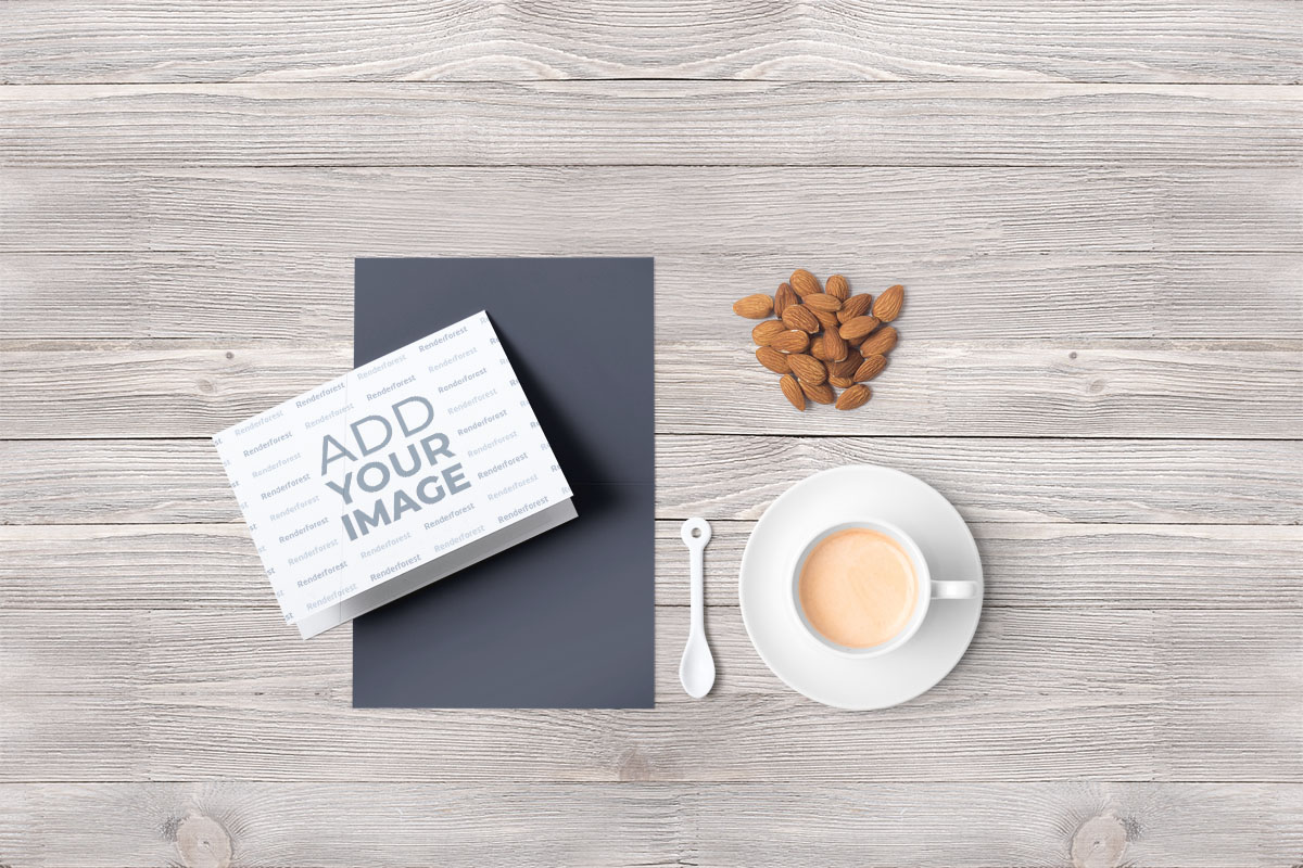 Cup of Coffee and Almonds
