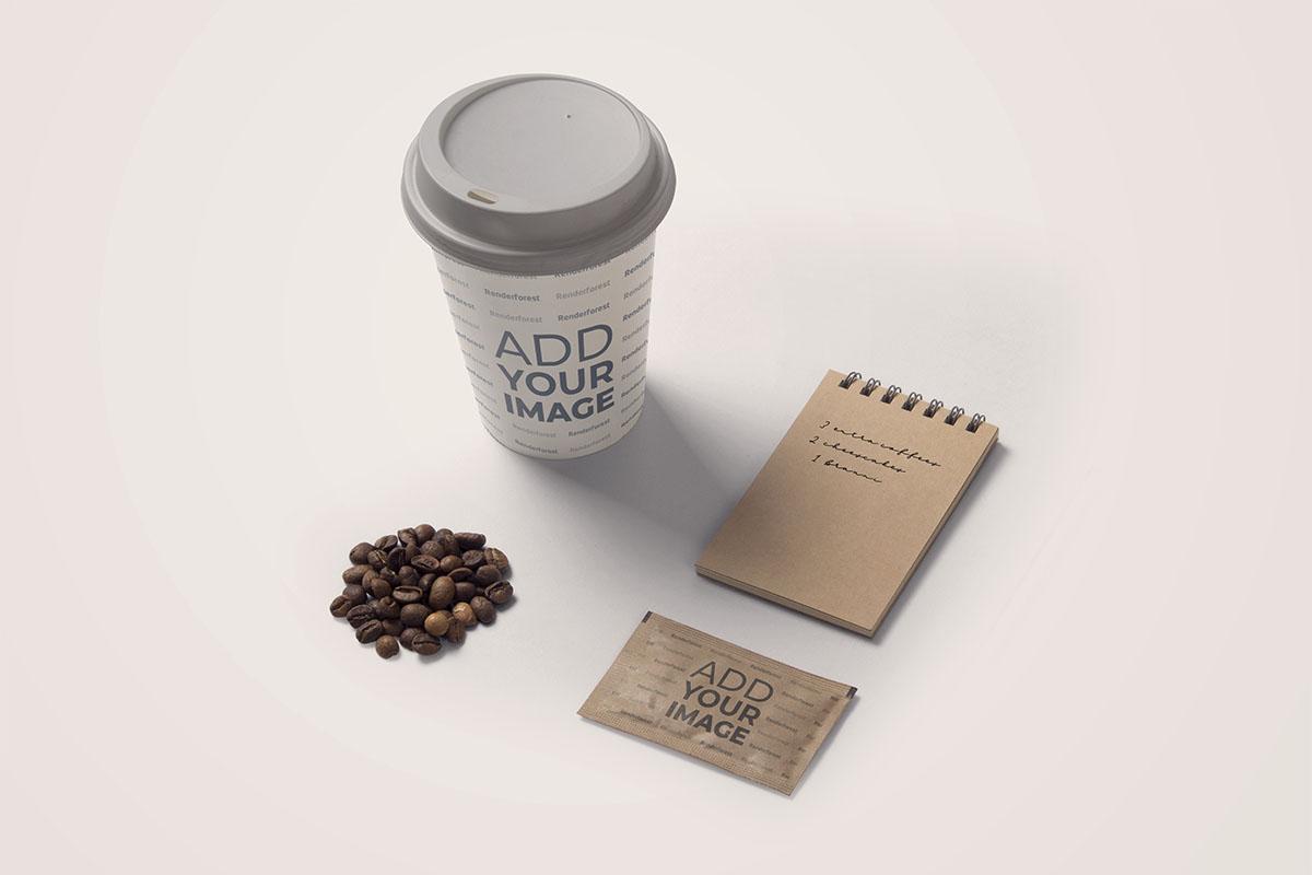 Coffeeshop Products Set