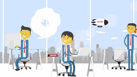 Red2realty Explainer Animation
