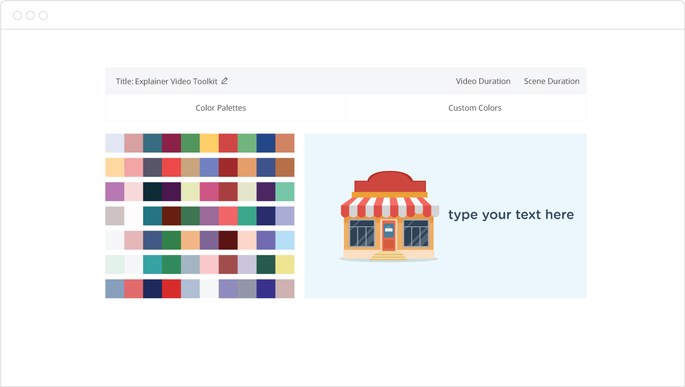 Free infographic video maker