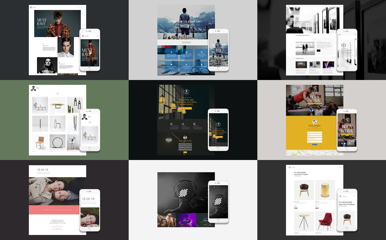 Created website image